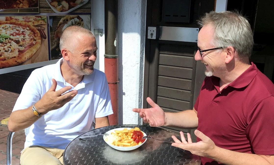 Ralf Borlinghaus und Thomas Schulz